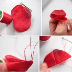 DIY Rosette Hair Pins