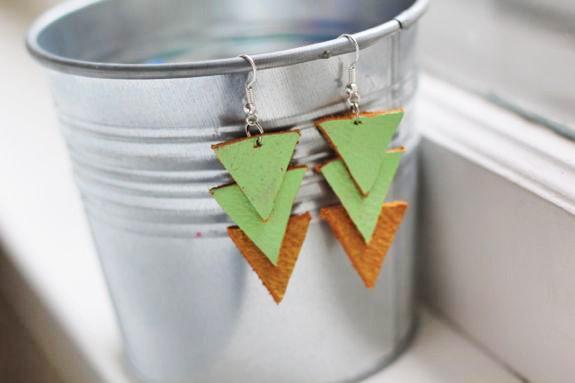 Den Beitrag 'Leder-Ohrringe im Dreieck-Look' lesen