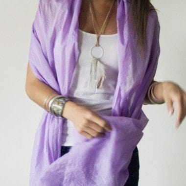 $50 Hand Dyed Scarf CLOSED