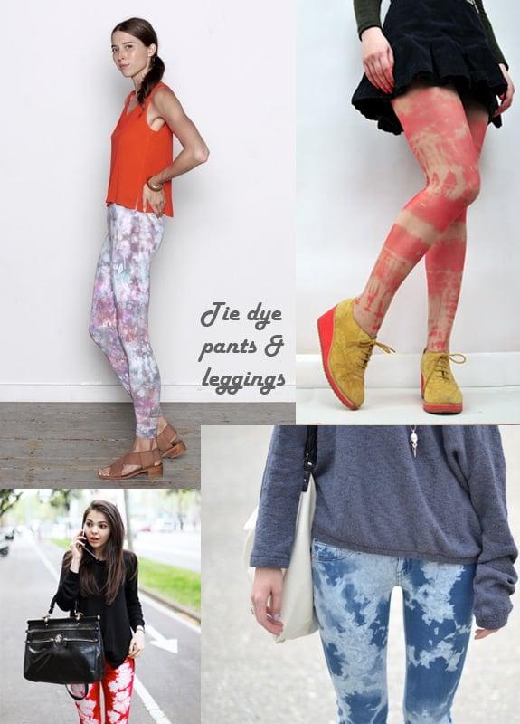 Tie Dye Pants & Leggings