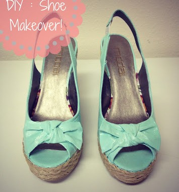 DIY Painted Shoe Makeover