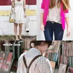 Lace Fashion Trend