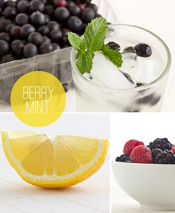 Berry Mint Lemonade