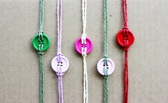 DIY Bracelet Button