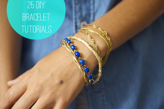 25 bracelet tutorials