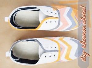 chevron sneakers