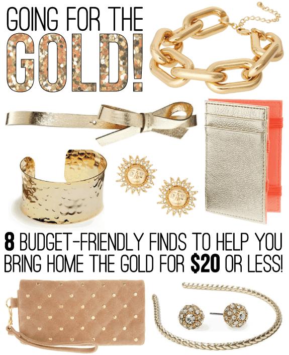 Gold Picks Under $20 | HelloGlow.co