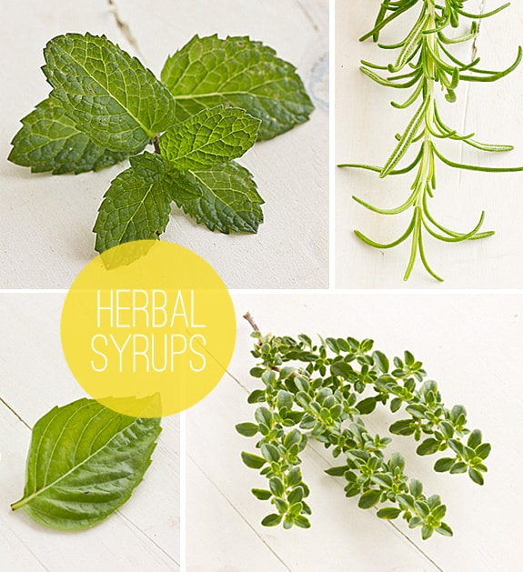 Herbal Syrups for Lemonade