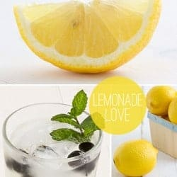Herb Infused Lemonade