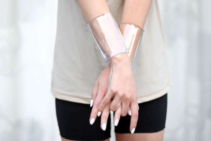 DIY Transparent Cuff