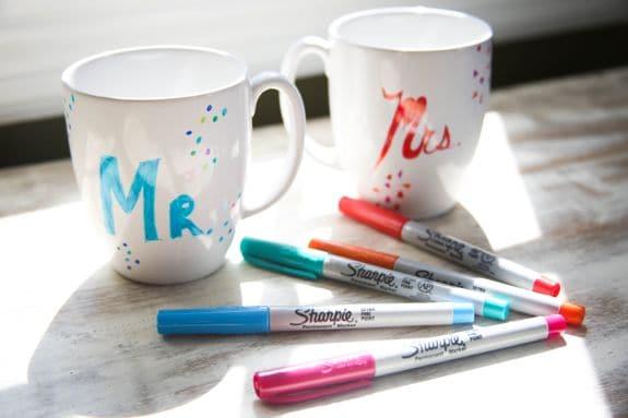 DIY Sharpie Mugs - Henry Happened