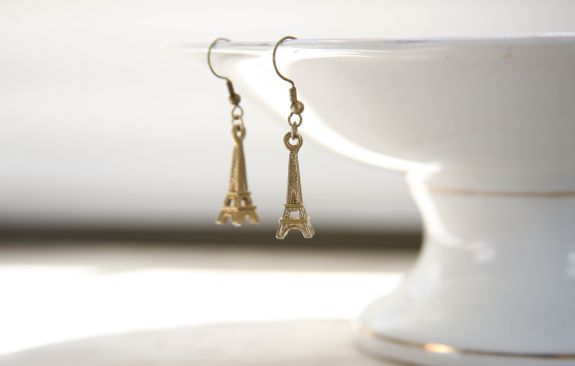 kate spade eiffel tower earrings