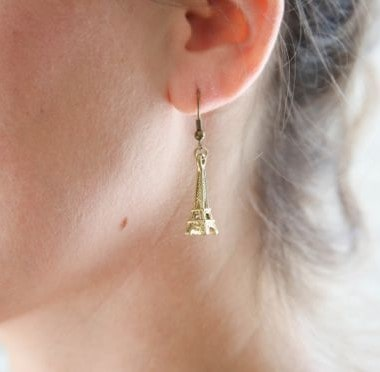 DIY Kate Spade Eiffel Tower Earrings