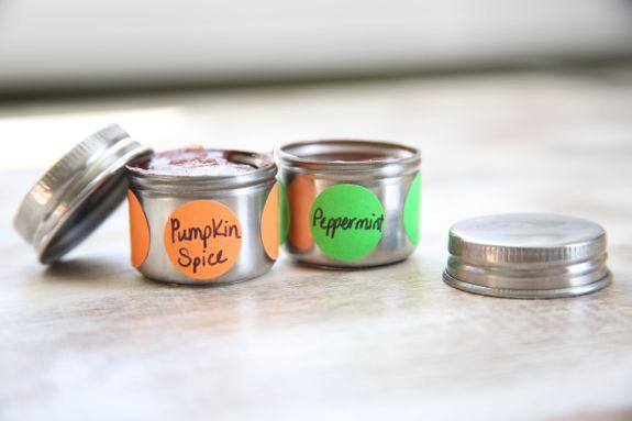 Pumpkins Spice and Peppermint Lip gloss