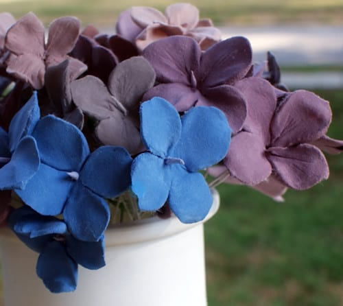 DIY crater's clay flowers - Saved by Love Creations