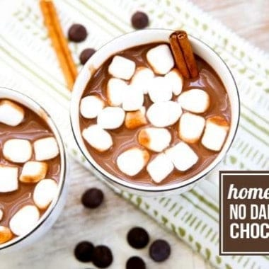 Homemade Dairy-Free Hot Chocolate