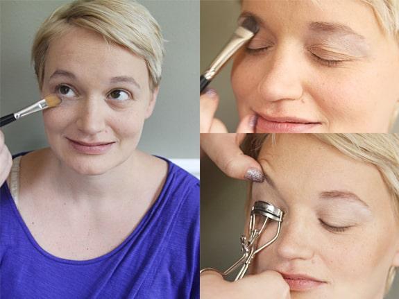 5 minutes face makeup