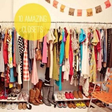10 Amazing Closets