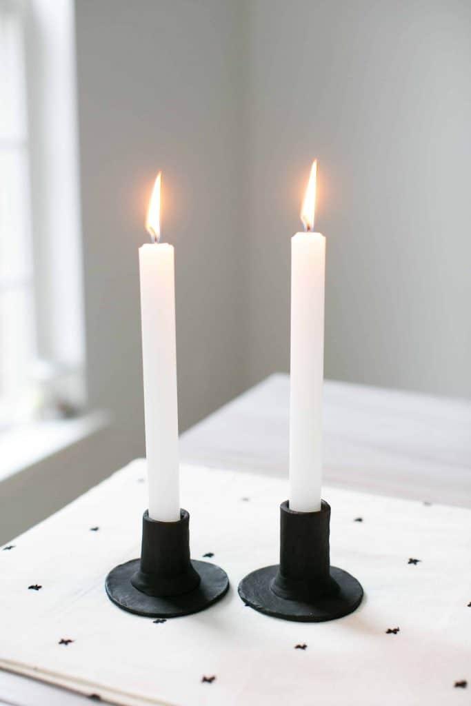 Tempat Lilin Gaya Skandinavia - Halo Sarang