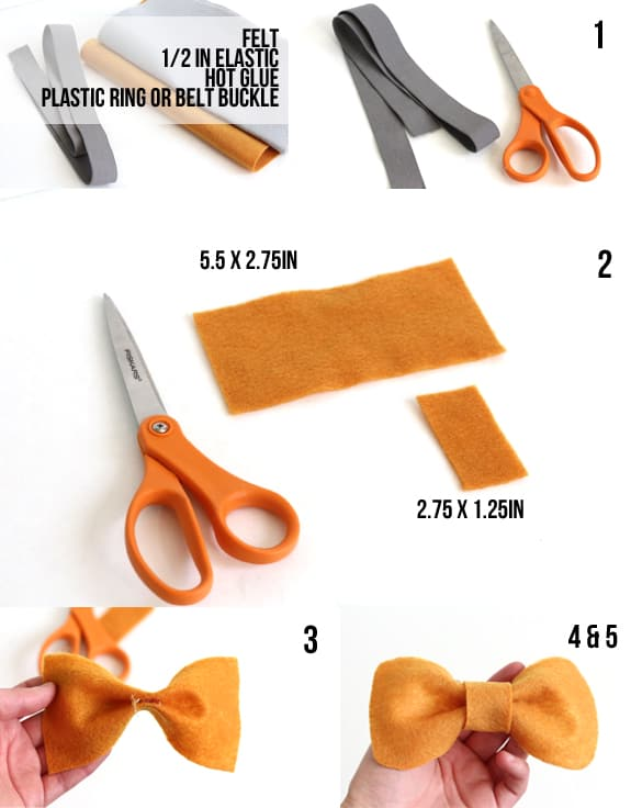 diy bow belt instructions