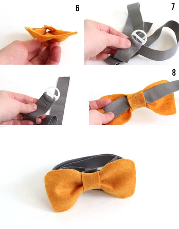 how to make a diy bow belt