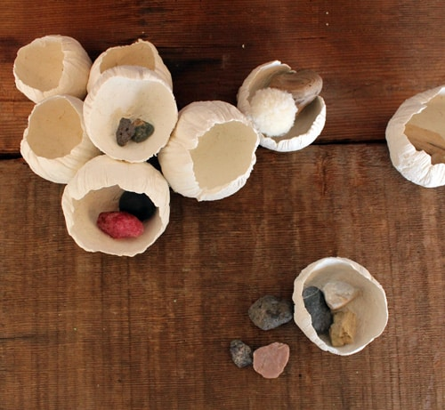 Paper clay barnacles - Design Sponge