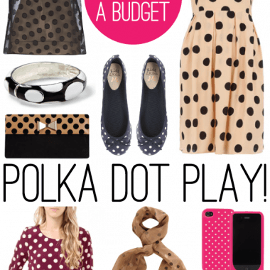 9 Polka Dot Finds under $35