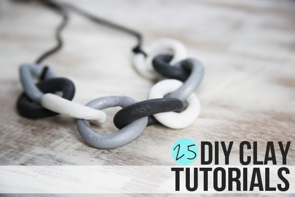 25 DIY Clay Tutorials