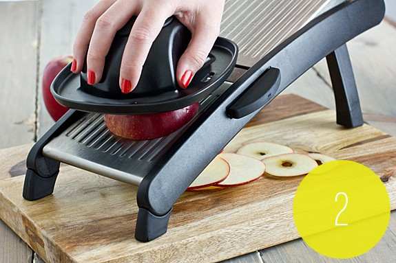 Slicing Apples for Apple Chips