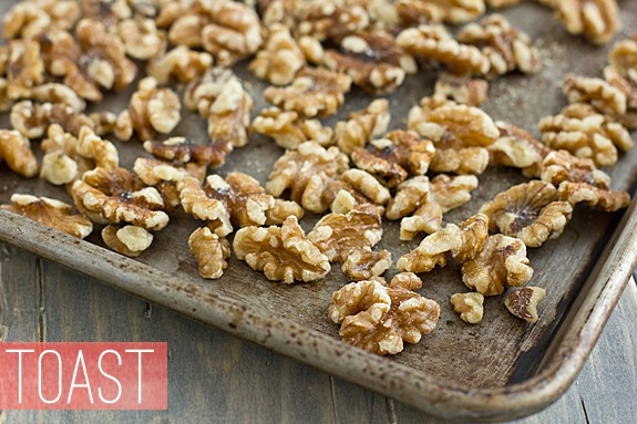 Toast Walnuts