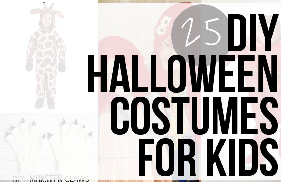 25 DIY Kids Halloween Costumes | HelloGlow.co