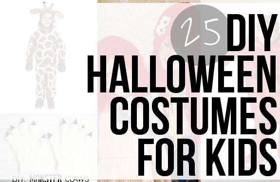 25 DIY Kids Halloween Costumes | HelloGlow.co