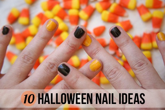 10 Fun + Easy Halloween Nail Ideas | HelloGlow.co