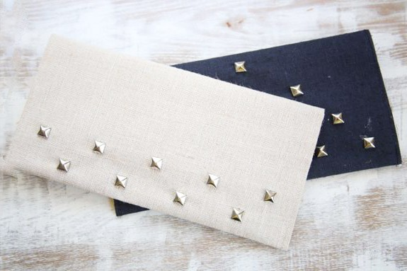 Studded Clutch How To