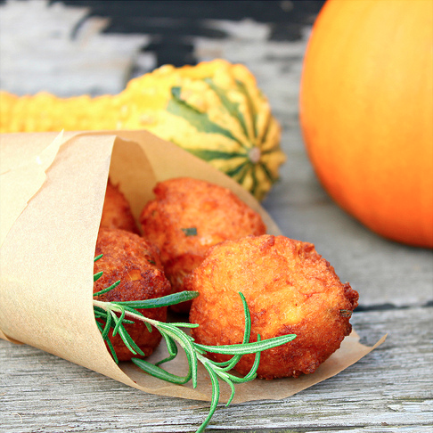 Pumpkin Fritters from What About Breakfast?