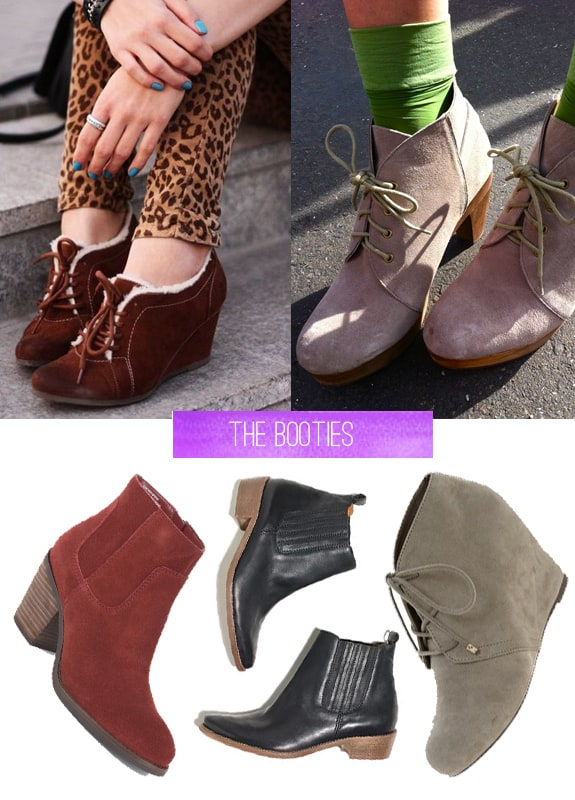 fall essentials booties
