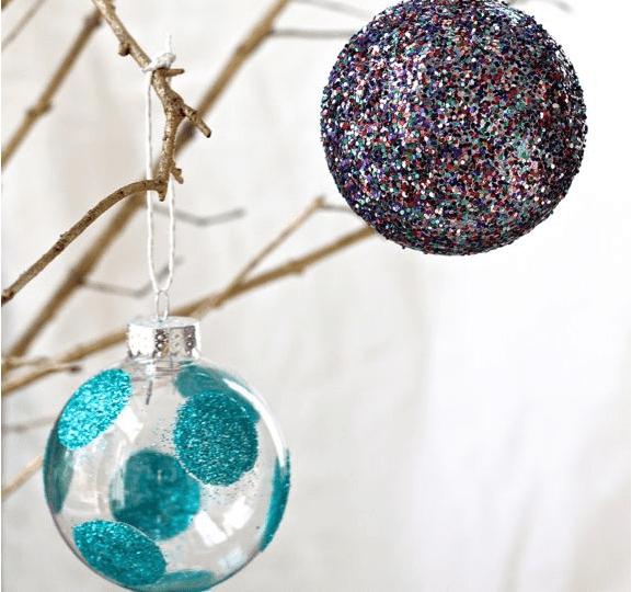Makeup Christmas Ornaments
