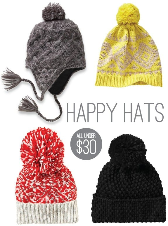 cozy chic accessories hats