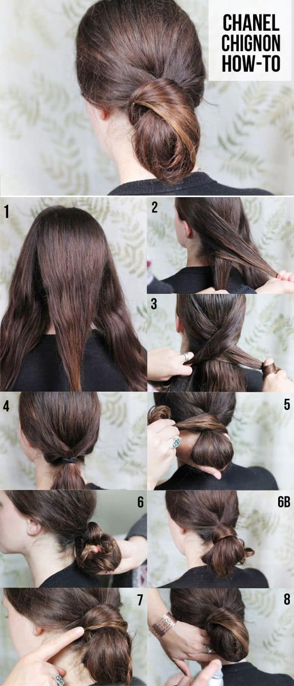 DIY Chanel Chignon