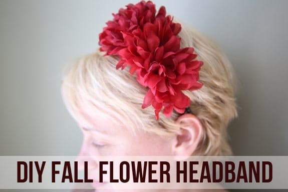 DIY Dollar Store Flower Headbands