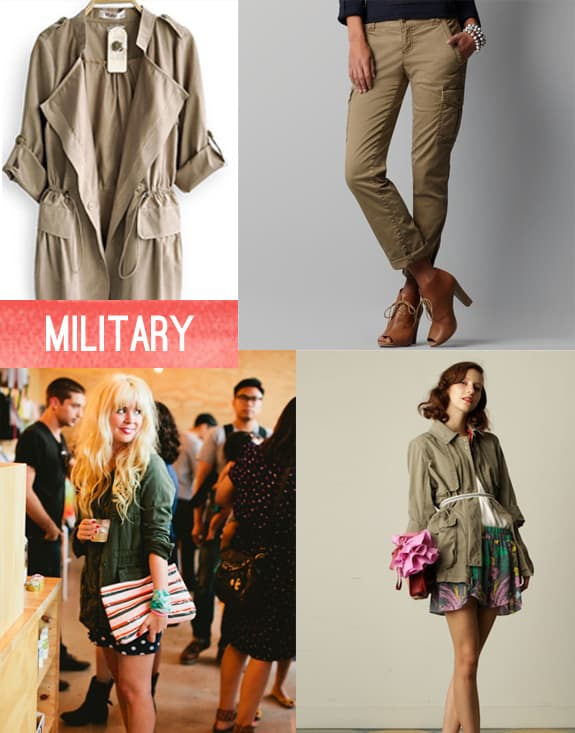 style inspiration military