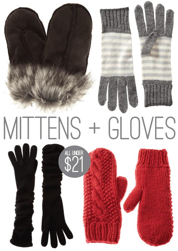 cozy chic accessories mittens
