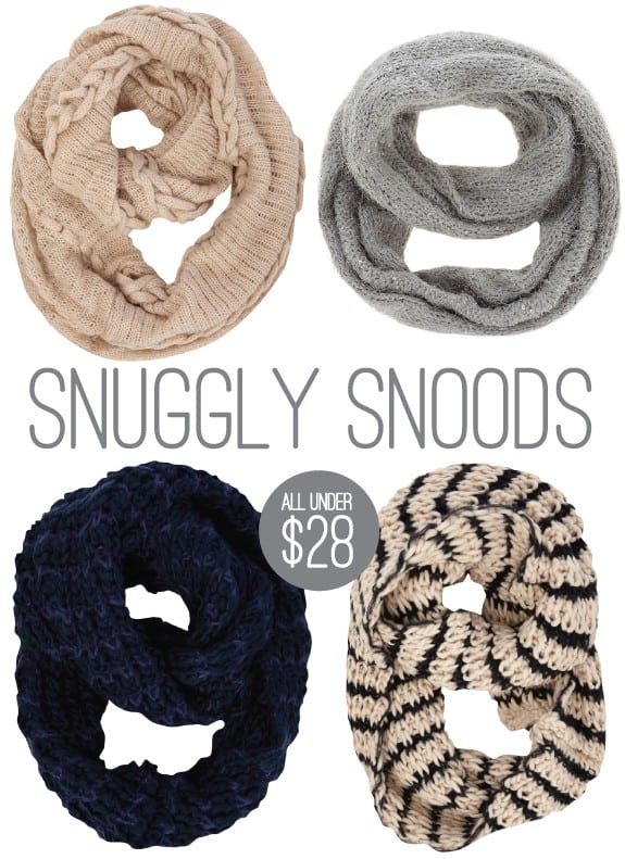 cozy chic accessories snoods