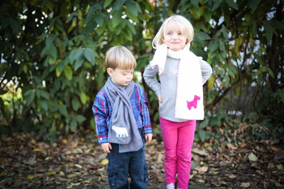 Fleece Scarf For Kids