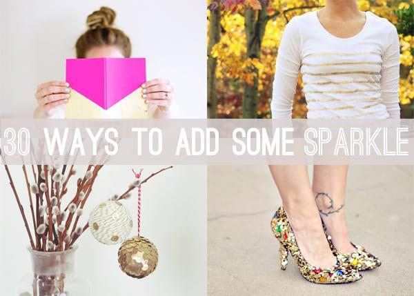 add some sparkle