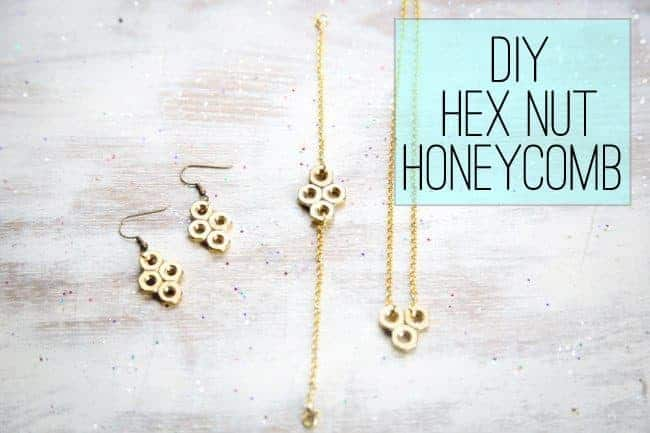 DIY Hex Nut Honeycomb
