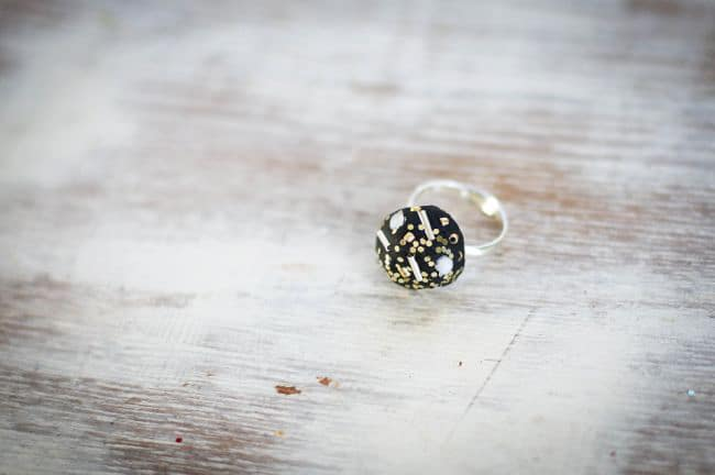DIY Clay Statement Ring | HelloGlow.co