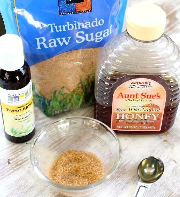 Homemade Sugar Lip Scrub