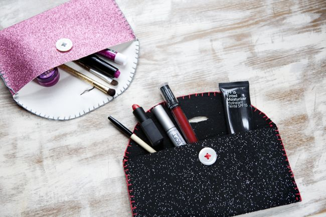 DIY Makeup Bag | 11 DIY Bags for All Your Needs
