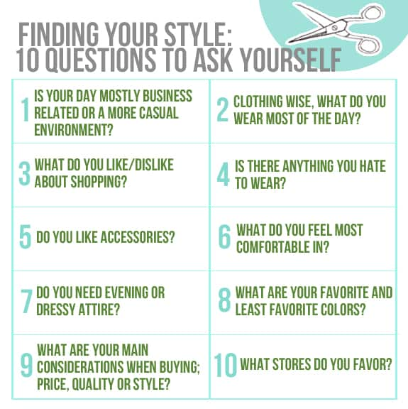 finding your style 10 questions to ask yourself hello glow